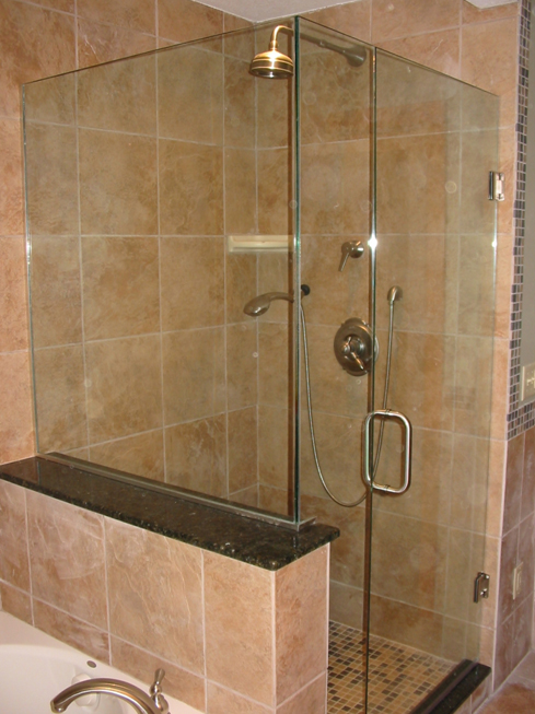 do you have a modern bathroom with the sleekest and trendiest design a frameless shower door will make the perfect compliment to any stylish decor