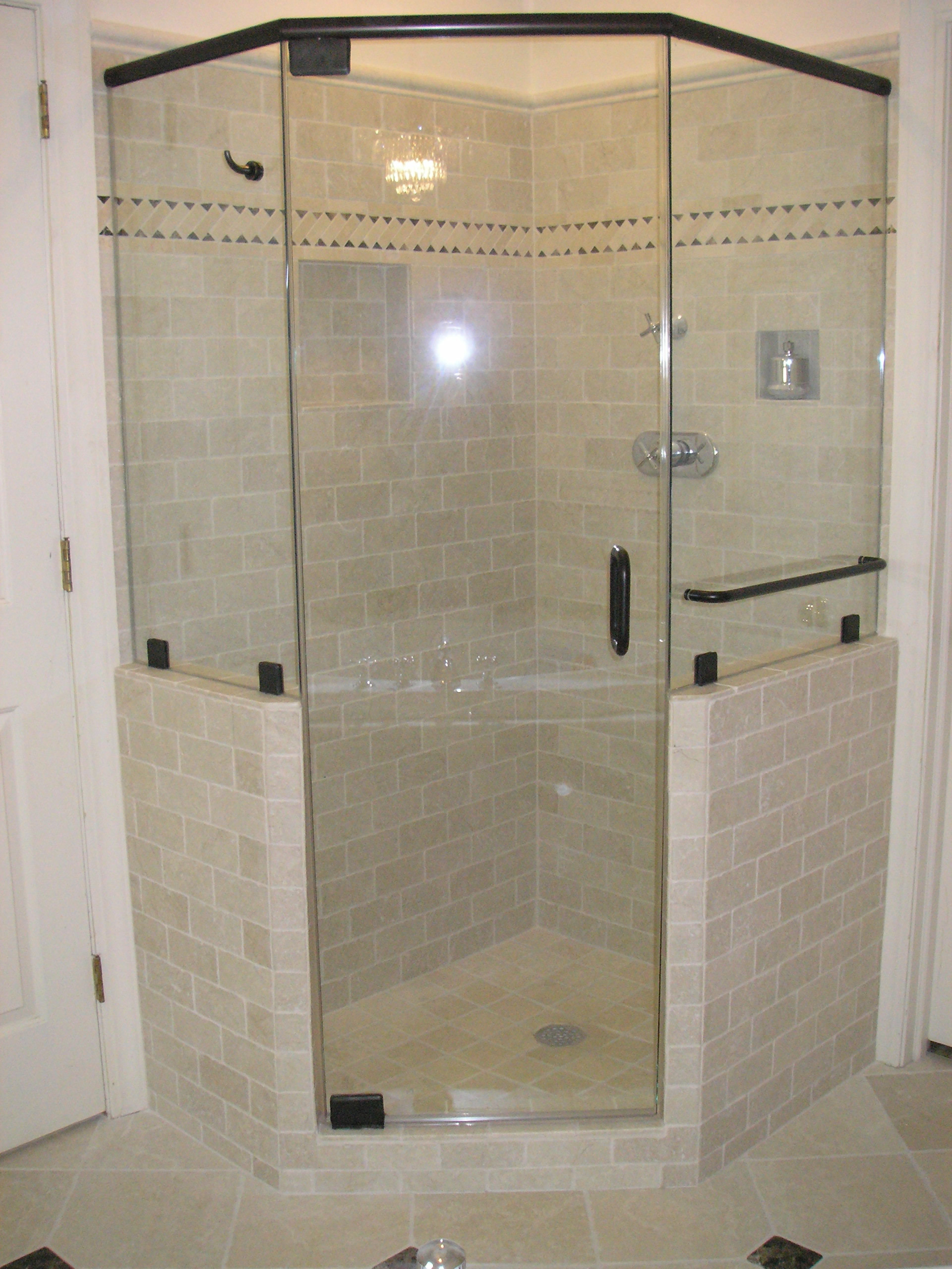 Bathroom shower doors frameless - 4