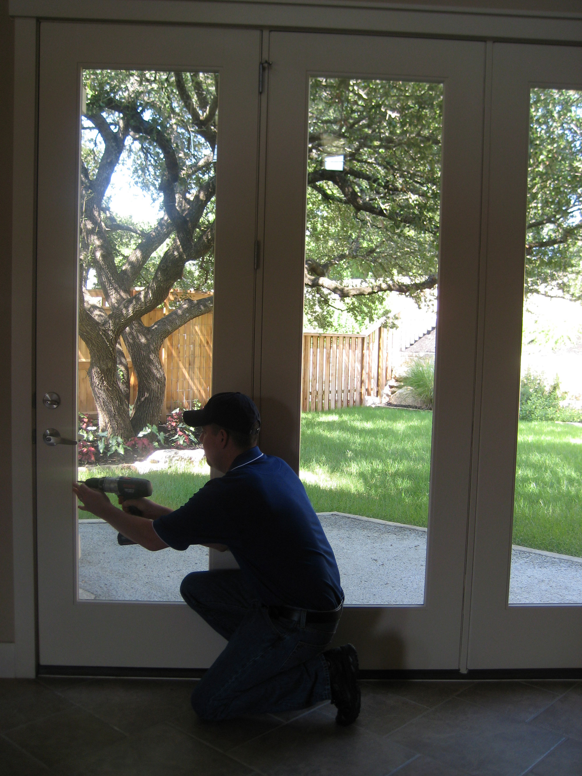 Patio Door Glass Replacement in Austin TX
