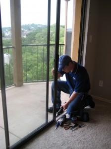 Austin Patio Door Glass Repair