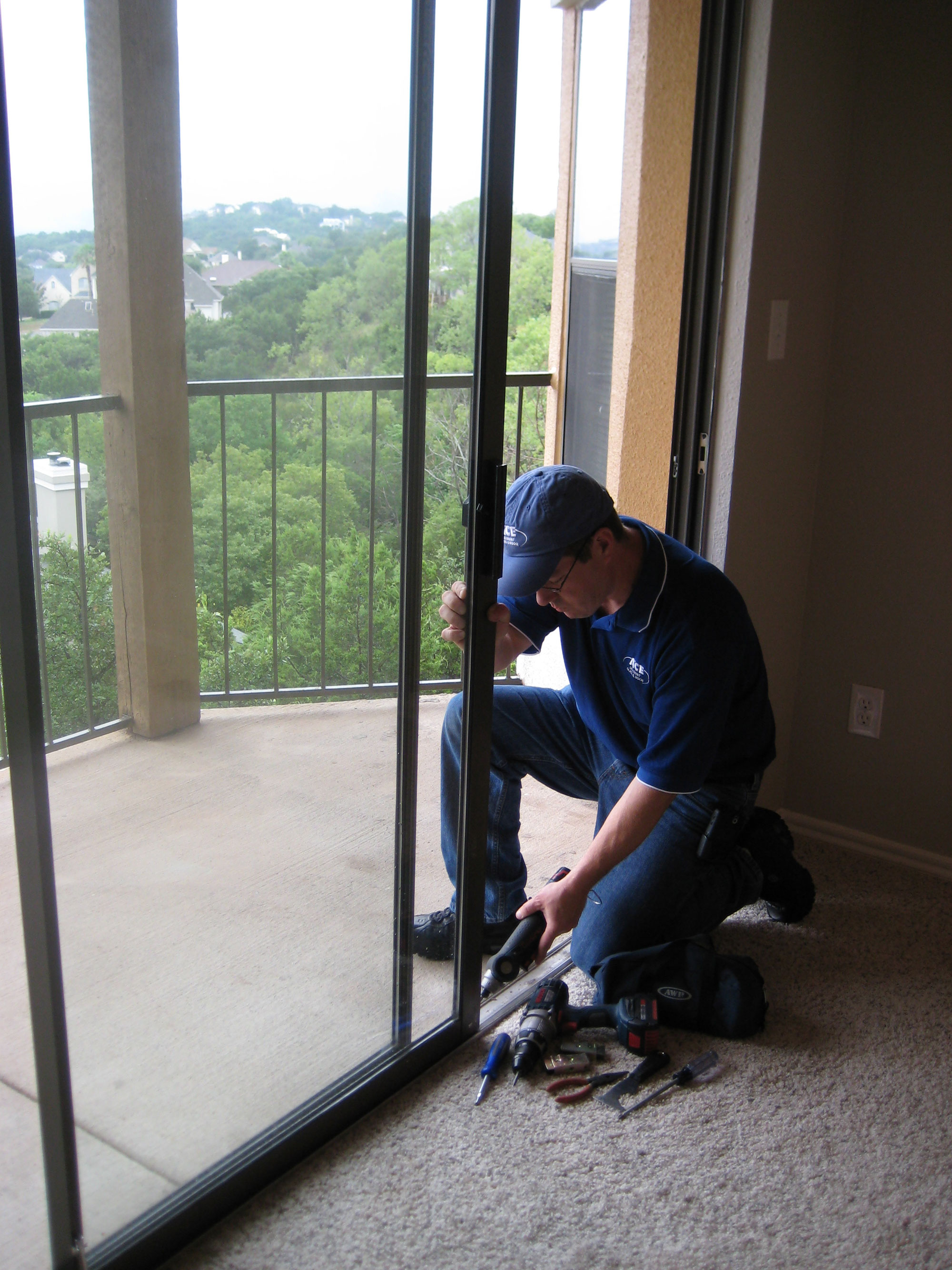 Patio door glass replacement in austin tx ace discount for Door window replacement
